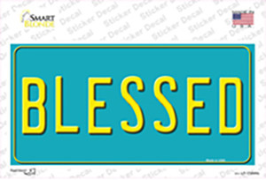Blessed Wholesale Novelty Sticker Decal