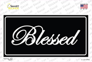 Blessed Black Wholesale Novelty Sticker Decal