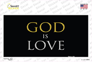 God Is Love Wholesale Novelty Sticker Decal