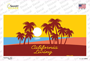 California Living Wholesale Novelty Sticker Decal
