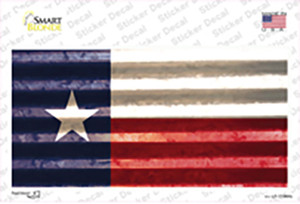 Texas Corrugated Flag Wholesale Novelty Sticker Decal