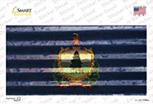 Vermont Corrugated Flag Wholesale Novelty Sticker Decal