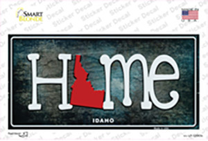 Idaho Home State Outline Wholesale Novelty Sticker Decal