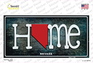Nevada Home State Outline Wholesale Novelty Sticker Decal