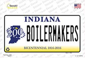 Boilermakers Indiana Wholesale Novelty Sticker Decal