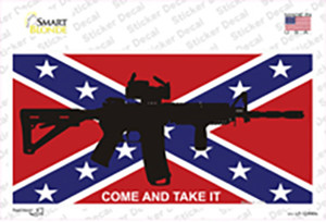 Come and Take It Confederate Flag Wholesale Novelty Sticker Decal