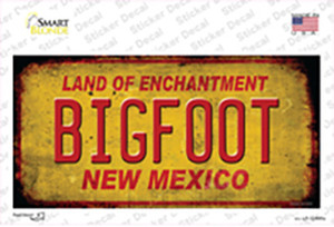 Bigfoot New Mexico Wholesale Novelty Sticker Decal
