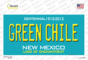 Green Chile New Mexico Green Wholesale Novelty Sticker Decal