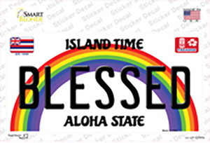Blessed Hawaii Wholesale Novelty Sticker Decal