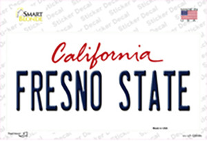 Fresno State Wholesale Novelty Sticker Decal