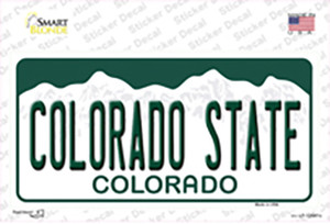 Colorado State Wholesale Novelty Sticker Decal