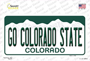 Go Colorado State Wholesale Novelty Sticker Decal