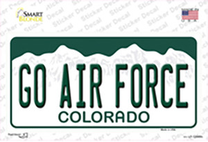 Go Air Force Wholesale Novelty Sticker Decal