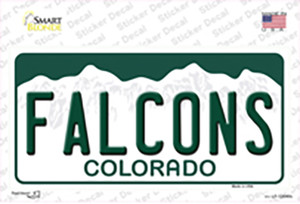 Falcons Wholesale Novelty Sticker Decal