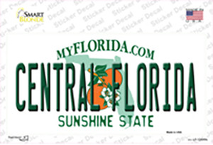 Central Florida Wholesale Novelty Sticker Decal