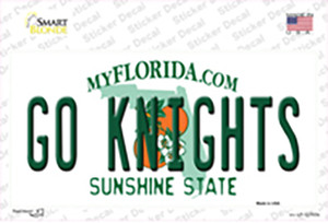 Go Knights Wholesale Novelty Sticker Decal