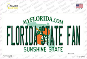Florida State Fan Wholesale Novelty Sticker Decal
