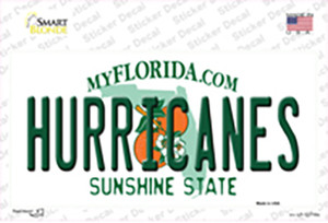 Hurricanes Wholesale Novelty Sticker Decal