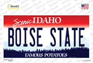 Boise State Wholesale Novelty Sticker Decal