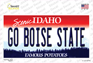 Go Boise State Wholesale Novelty Sticker Decal