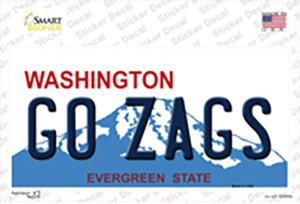 Go Zags Wholesale Novelty Sticker Decal