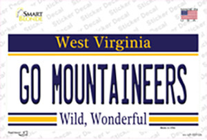 Go Mountaineers Wholesale Novelty Sticker Decal