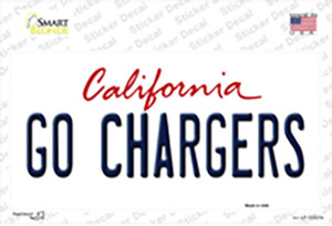 Go Chargers Wholesale Novelty Sticker Decal