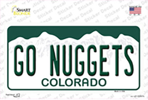 Go Nuggets Wholesale Novelty Sticker Decal