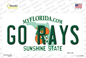 Go Rays Wholesale Novelty Sticker Decal