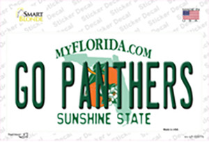 Go Panthers Wholesale Novelty Sticker Decal