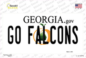 Go Falcons Wholesale Novelty Sticker Decal