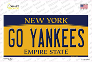 Go Yankees Wholesale Novelty Sticker Decal