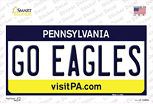 Go Eagles Wholesale Novelty Sticker Decal