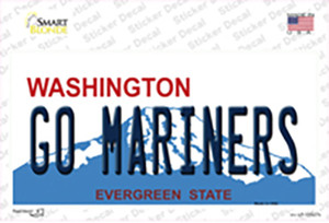 Go Mariners Wholesale Novelty Sticker Decal