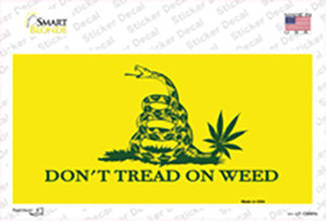 Dont Tread On Weed Wholesale Novelty Sticker Decal