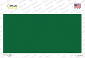 Green Metallic Solid Wholesale Novelty Sticker Decal