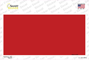 Red Metallic Solid Wholesale Novelty Sticker Decal