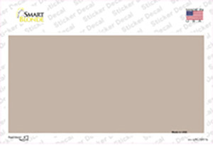Tan Metallic Solid Wholesale Novelty Sticker Decal