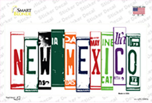 New Mexico Art Wholesale Novelty Sticker Decal