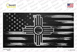 New Mexico Carbon Fiber Wholesale Novelty Sticker Decal