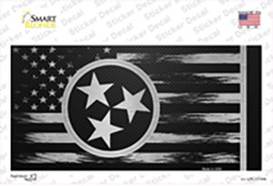 Tennessee Carbon Fiber Wholesale Novelty Sticker Decal