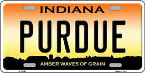 Purdue Wholesale Novelty Metal License Plate Tag