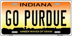 Go Purdue Wholesale Novelty Metal License Plate Tag