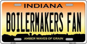 Boilermakers Fan Wholesale Novelty Metal License Plate Tag