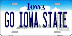 Go Iowa State Wholesale Novelty Metal License Plate Tag
