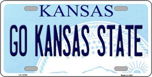 Go Kansas State Wholesale Novelty Metal License Plate Tag