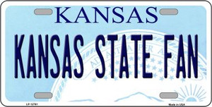 Kansas State Fan Wholesale Novelty Metal License Plate Tag