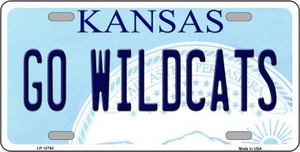 Go Wildcats Kansas Wholesale Novelty Metal License Plate Tag