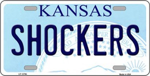 Shockers Wholesale Novelty Metal License Plate Tag