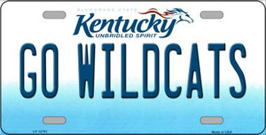 Kentucky Go Wildcats Wholesale Novelty Metal License Plate Tag